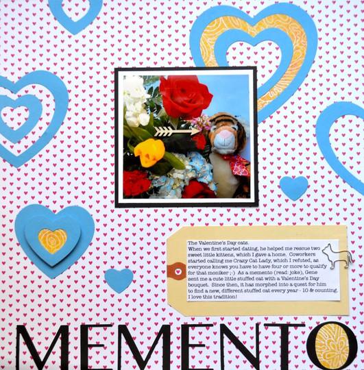 Memento layout