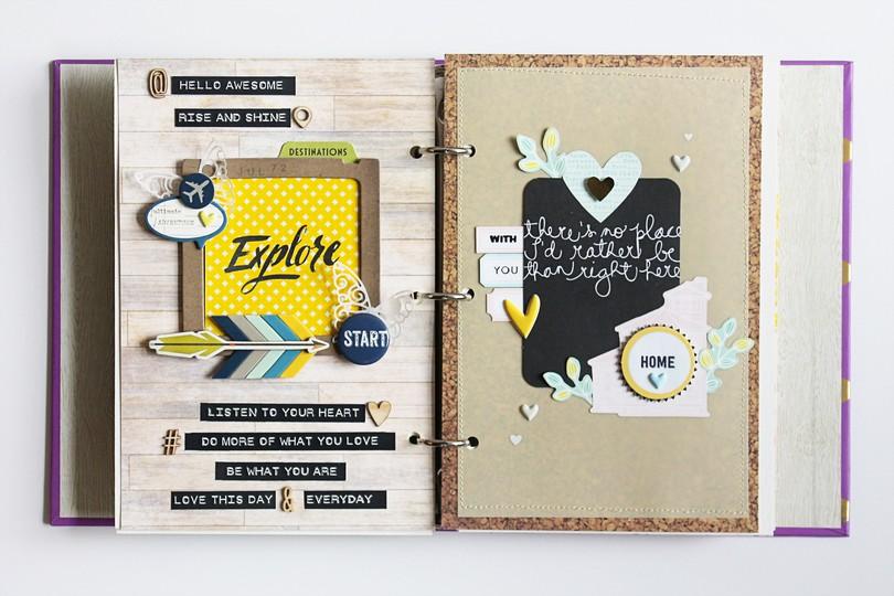 Art journal 10 full spread