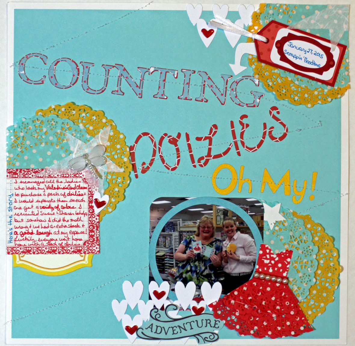 Counting doilies oh my original