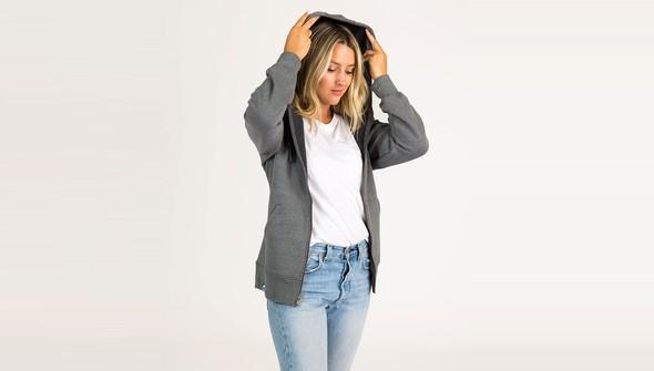 Basic fullzipsweatshirtwomen gray slider2 original