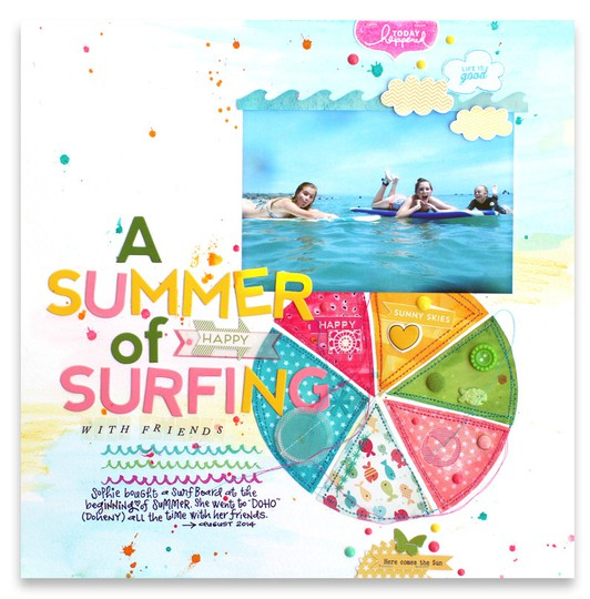 A summer of surfing