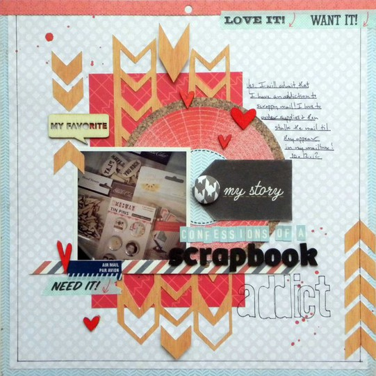 Confessions of a scrapbook addict