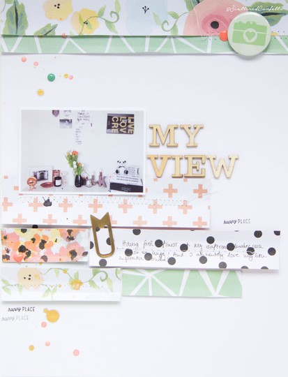 Myview scrapbooking layout scatteredconfetti fancypants diy papercrafts 1