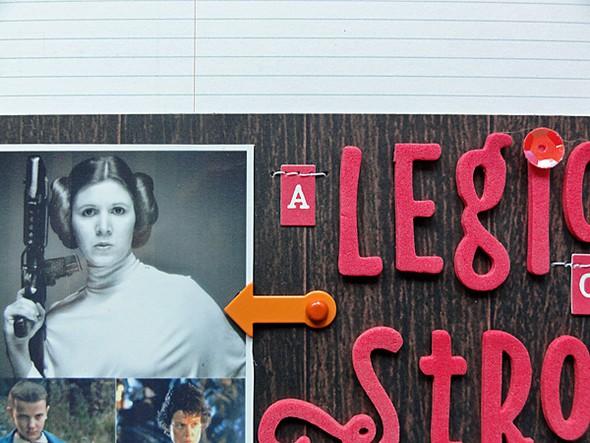 A league of strong women details 1 original