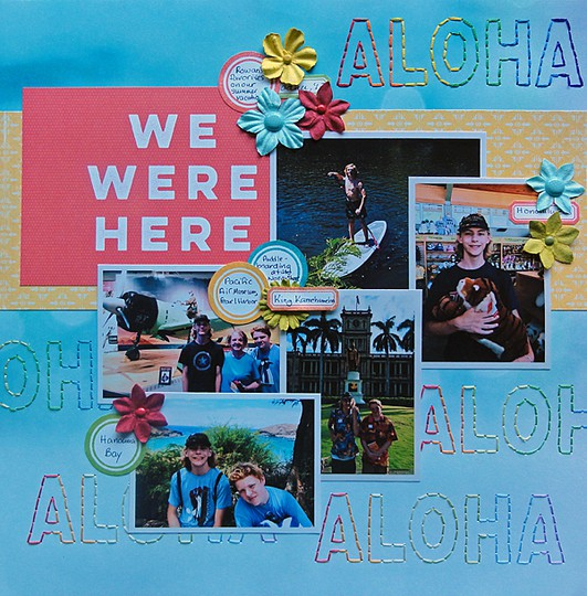 Aloha by jennifer larson original