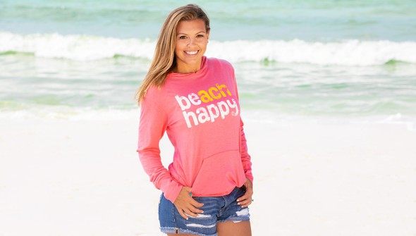Beachhappy pulloverhoodie melon slider1 original