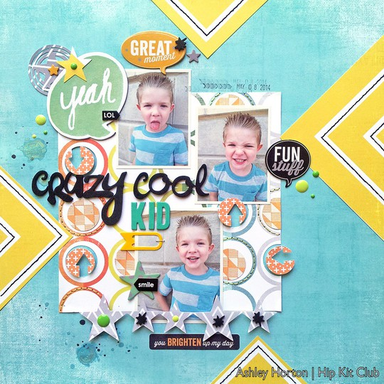 Crazy cool kid1
