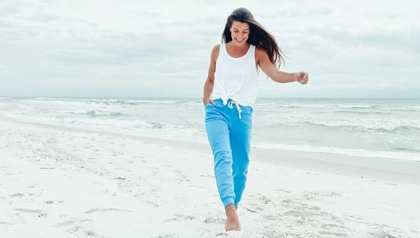 121389 fleece joggers women 30a blue slider2 original