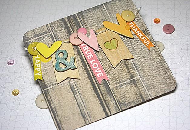 Truelove banner card