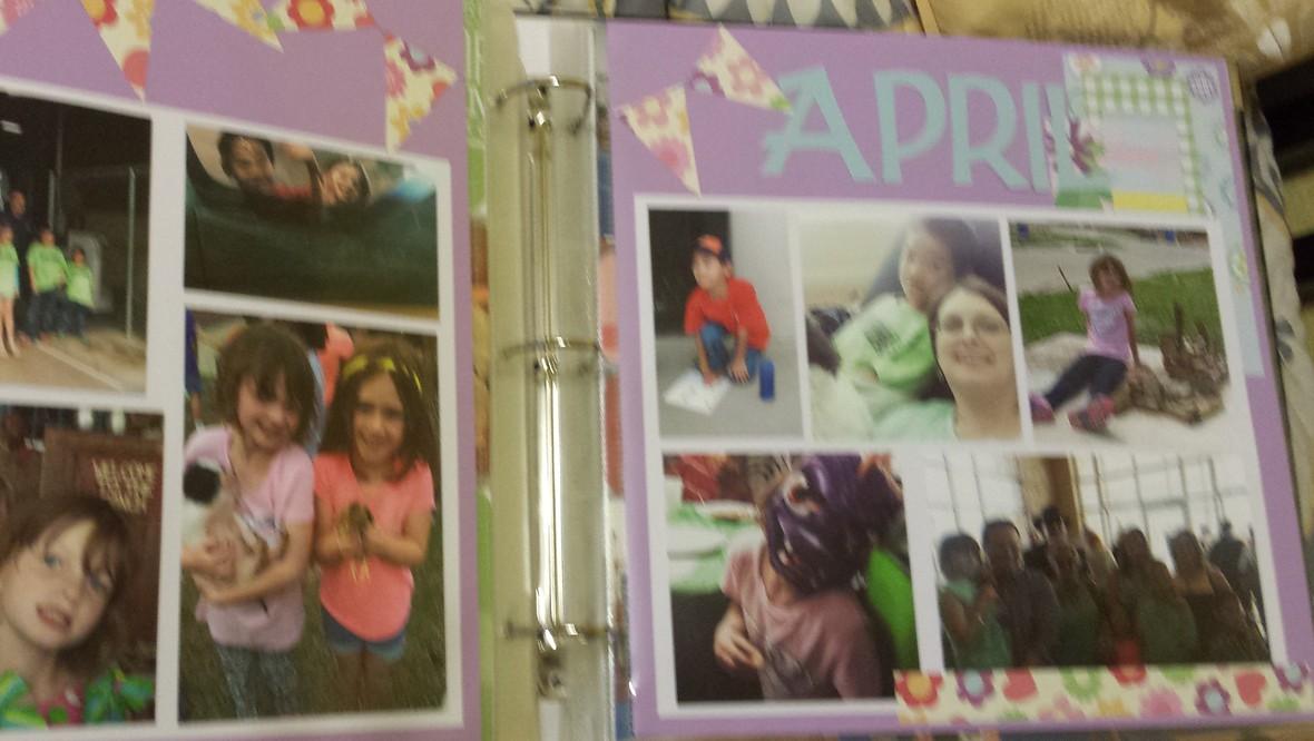 April scrap original