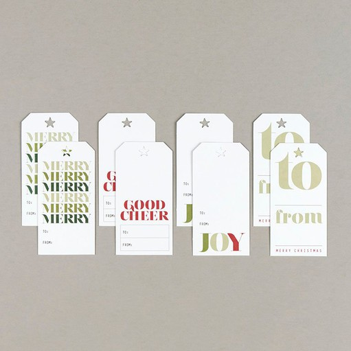Picture of Good Cheer Gift Tag Set