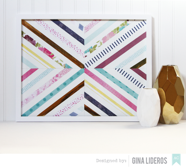 Gina lideros 10 patterned papers tutorial ac
