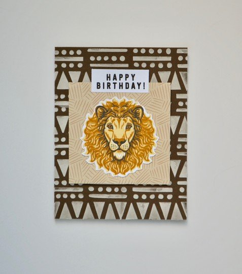 Birthday lion original