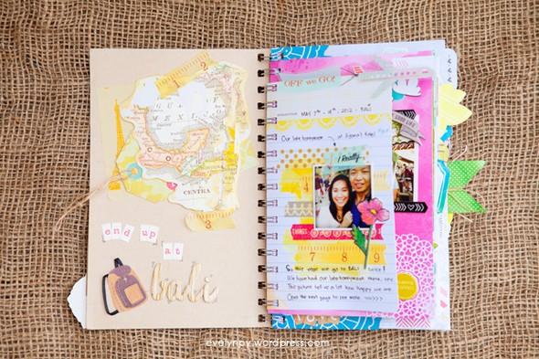 Bali honeymoon day book inside 1 by geekgalz evelynpy