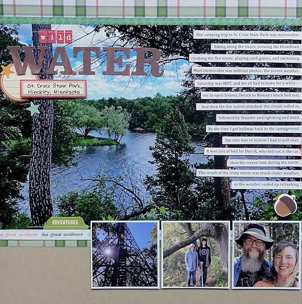 Wild water page 1 original