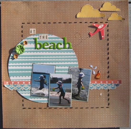At the beach 003