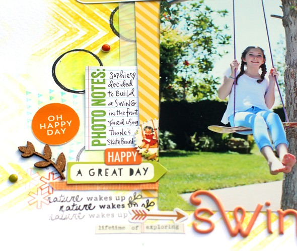 Spring swing close up 2