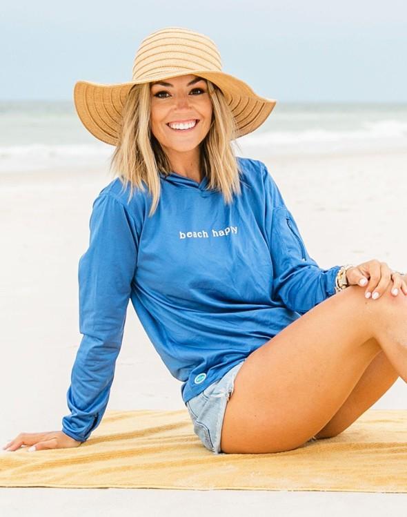 152552 simple beach happy hooded sun shirt royal women slider 1 original
