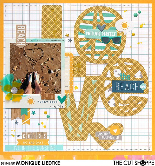 Mliedtke the cut shoppe scraptastic love the beach original