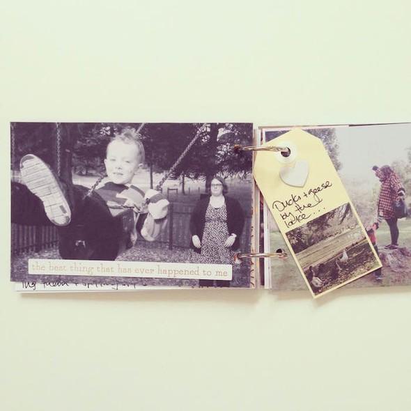 Glenlyon road trip mini book by mama finch 8 original
