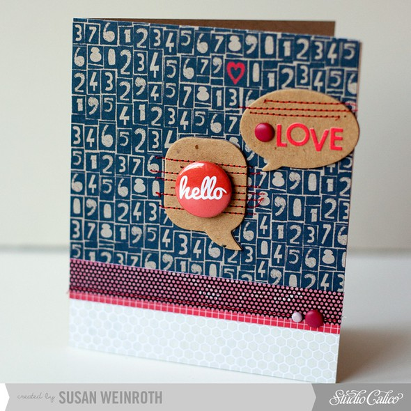 4   hello love card