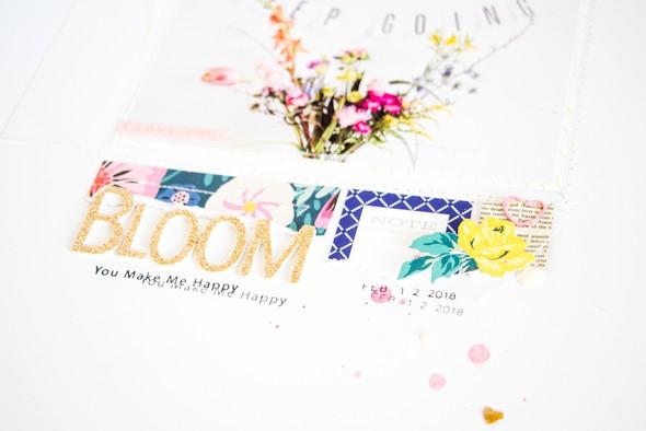 Bloom scatteredconfetti scrapbooking layout citrustwistkits february cratepaper 3 original