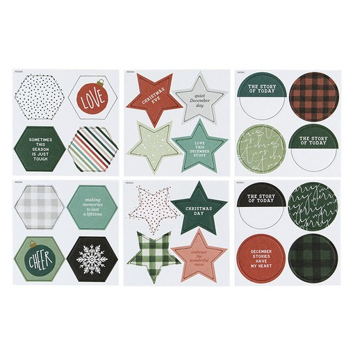 Picture of December Daily® 2019 Chipboard Bundle 1