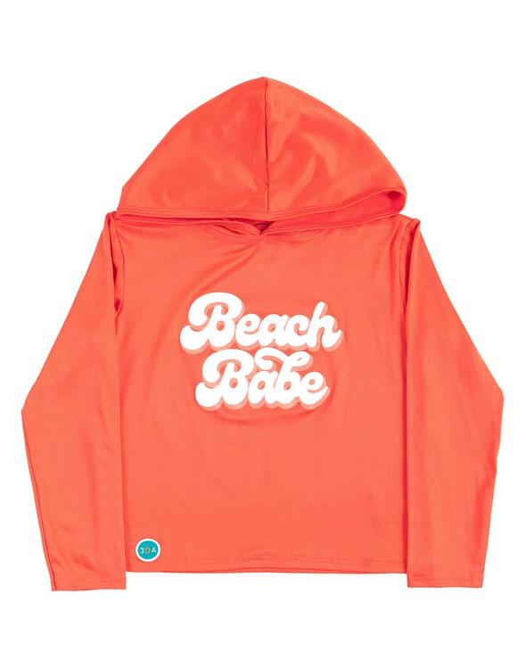 164678 beachbabehoodedsunshirtkidscoral original