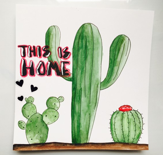 This is home cactus original