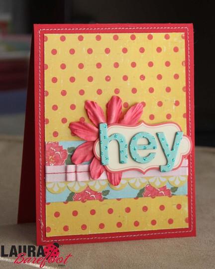 Hey card