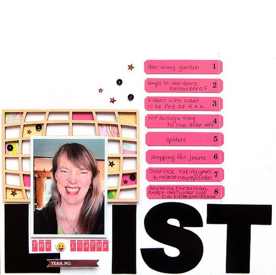The loathe list by jennifer larson