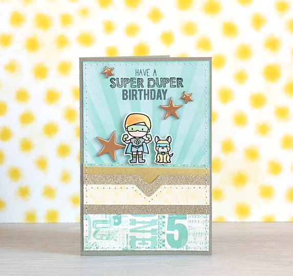 Super duper birthday by natalie elphinstone original