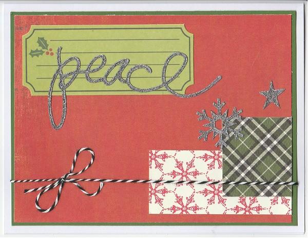 Peace and snowflake original