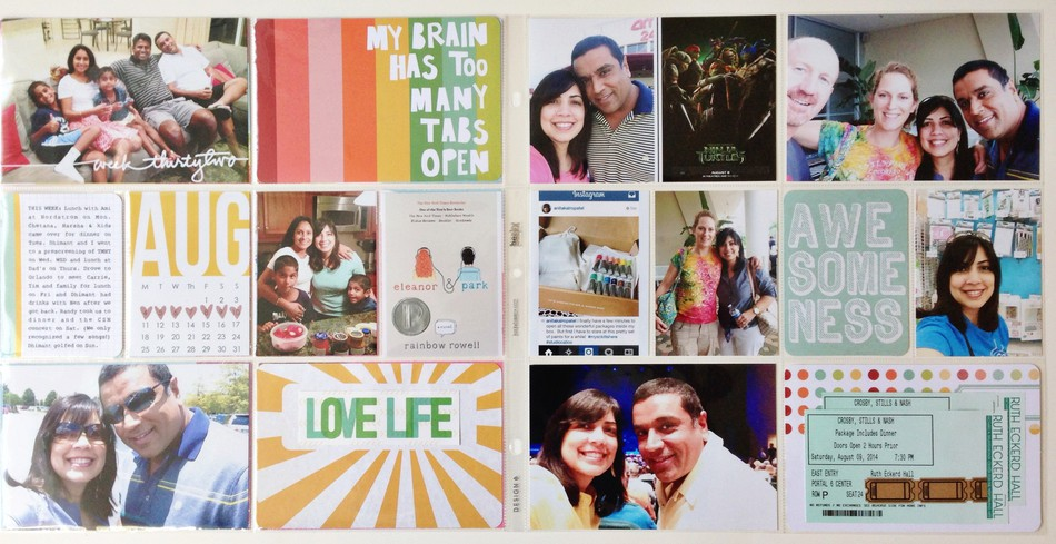 2014 project life week 32
