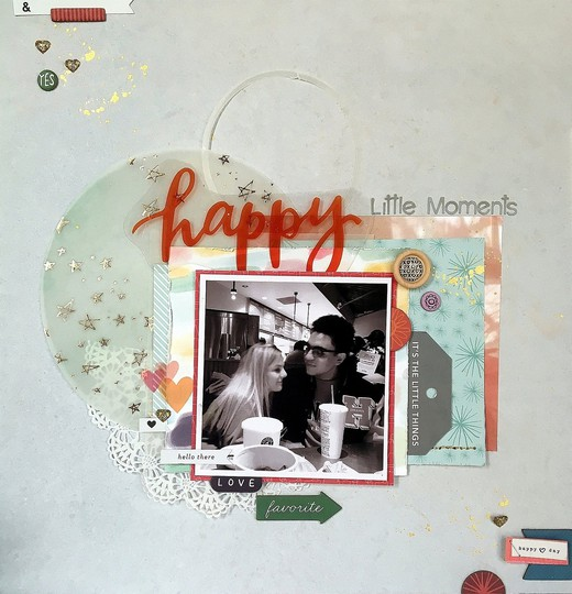 Happy little moments 1 original