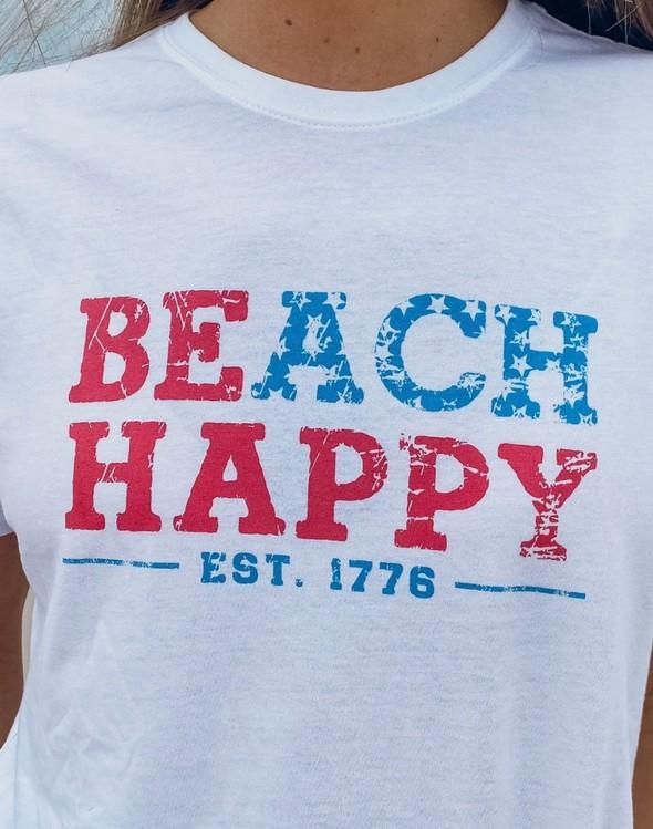 114200 beachhappyusashortsleevewomenwhite slider3v original