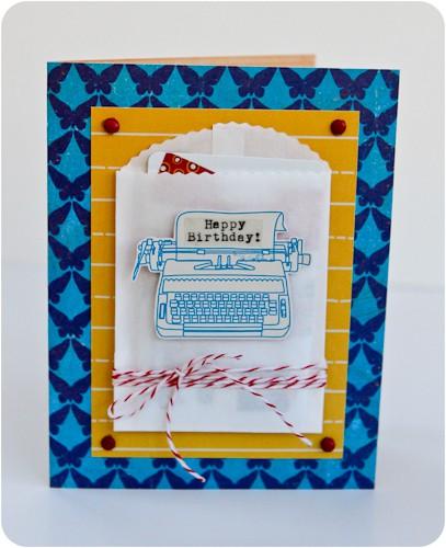 Typewriter birthday 1