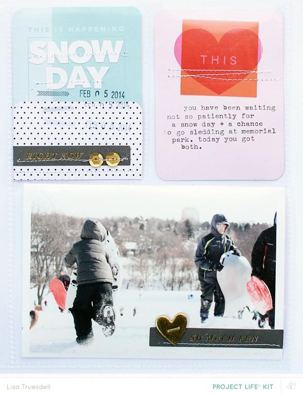Snowday lisatruesdell