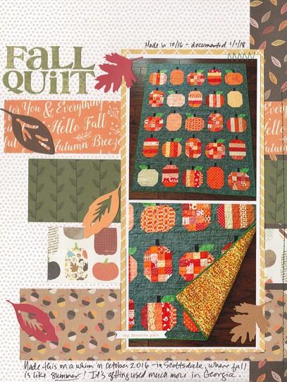 Fall quilt original