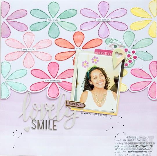 Lovely smile original