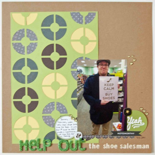 Help out the shoe salesman