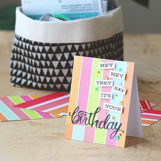 Birthday stripes fullw