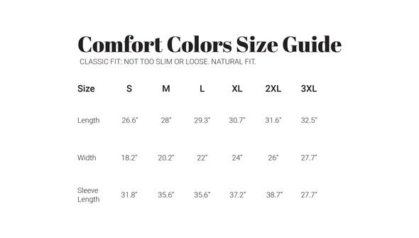 30a sizecharts comfortcolors longsleeve original