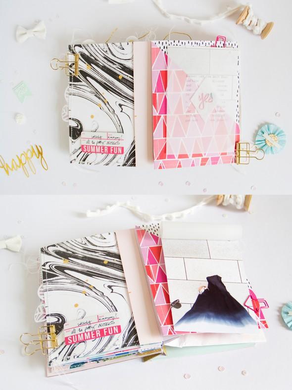 Summer2016 scatteredconfetti scrapbooking minialbum cratepaper americancrafts 8.1 original