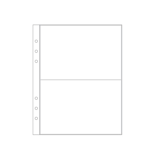 """Picture of 6x8"""" Page Protector 3A (6-ring)"""