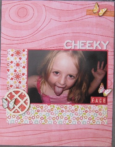 Cheeky face
