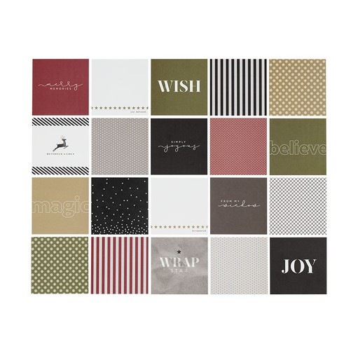 Picture of December Daily® 4x4 Journal Card Set