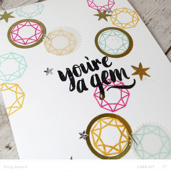 Gem closeup card