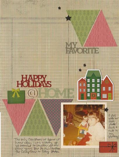 Happy holidays at home original
