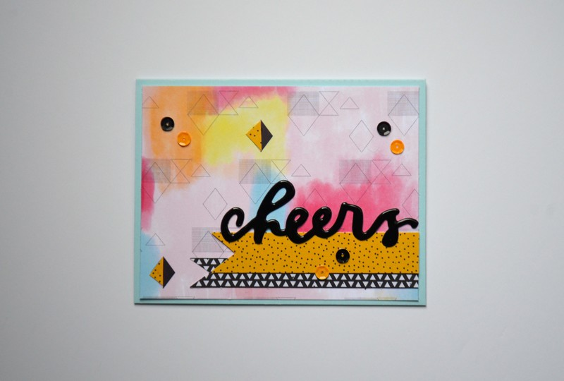 Cheers card original